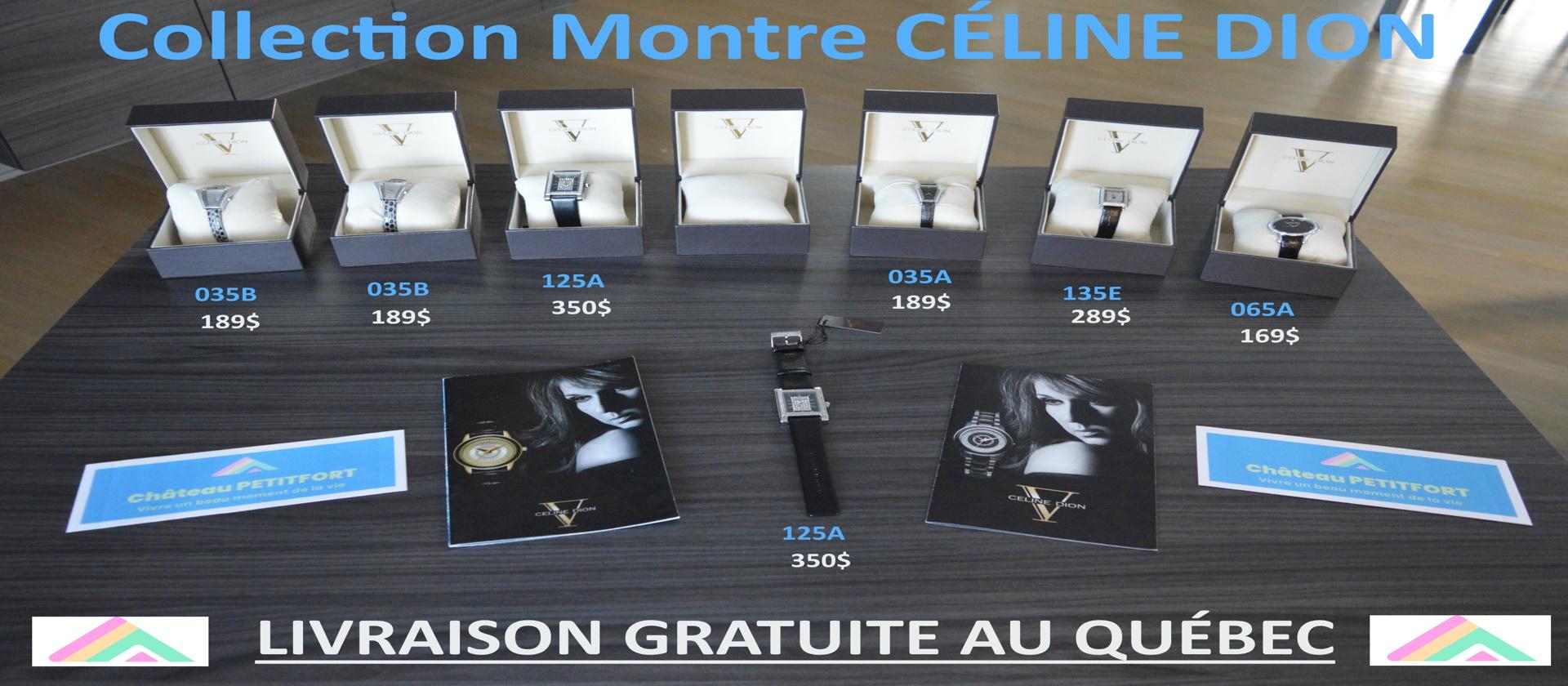 Montres Céline Dion steelx